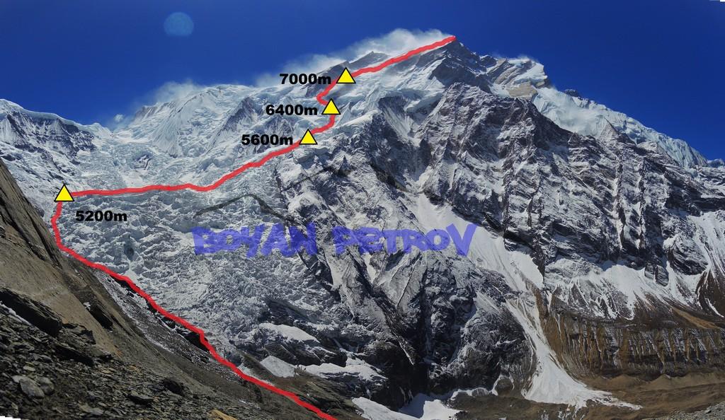 Анапурна I / Annapurna I (8091m) - Боян Петров